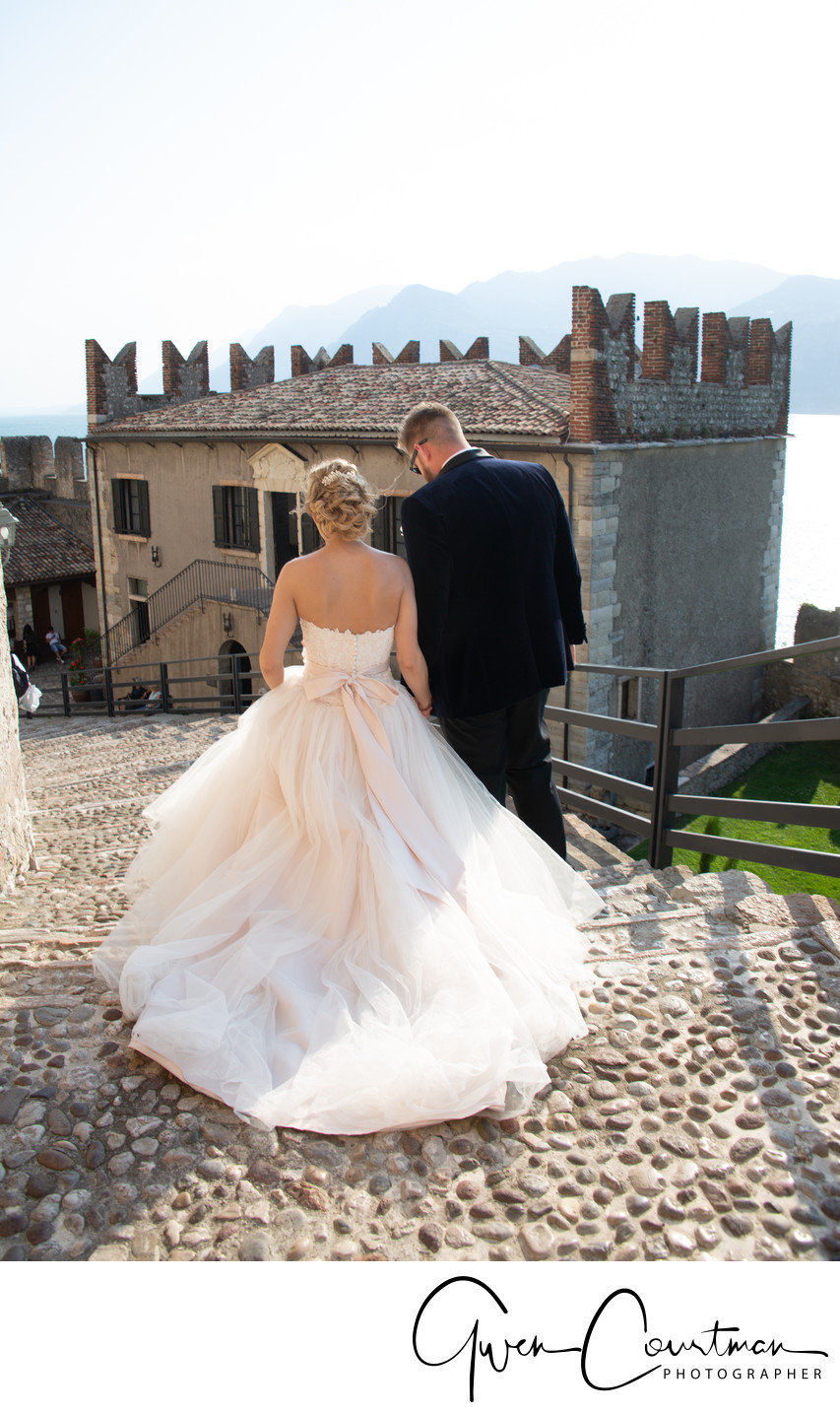 Stunning wedding venues in Italy.