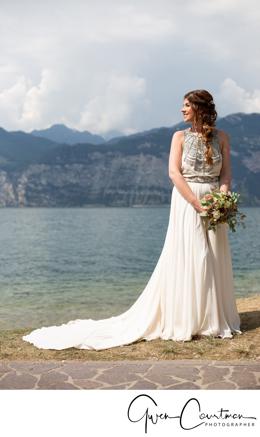 Gemma and Jay Lakeside Wedding, Malcesine, Italy