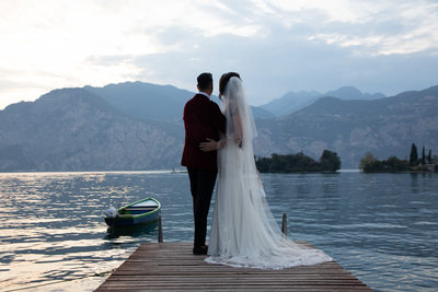 Dreamy wedding photography in Italy.