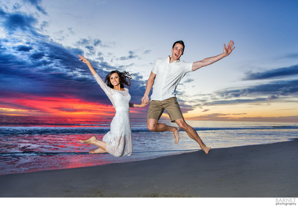 San Clemente Beach Engagement Session