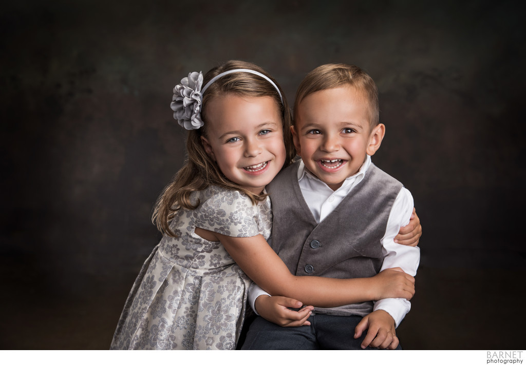 Children Studio Portrait Session in Costa Mesa