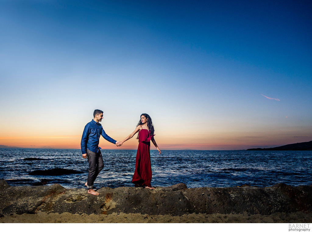 SoCal Beach Engagement Photography