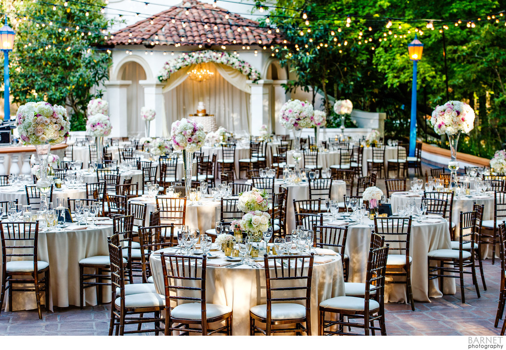 Rancho Las Lomas Wedding Reception Decor