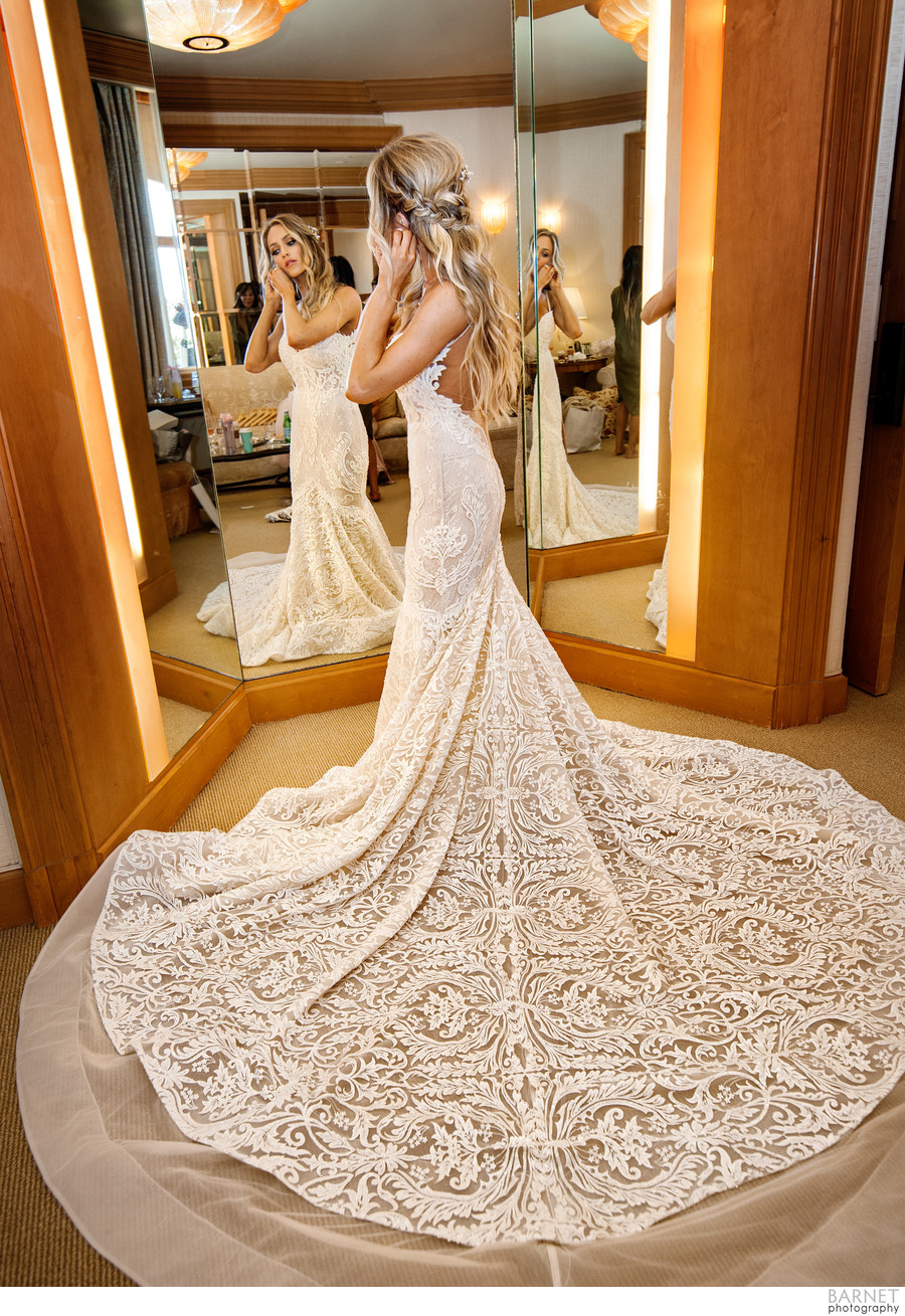 Pelican Hill Bridal Suite Photography