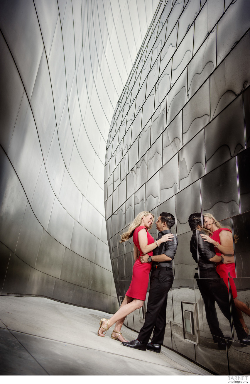 Disney Concert Hall Engagement Session