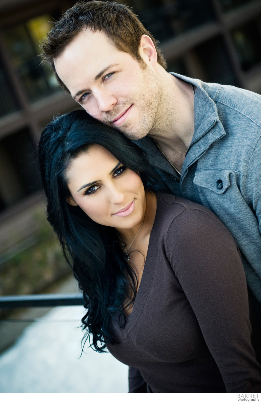 Lake Arrowhead Romantic Engagement Photo