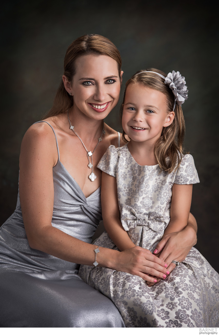 Mother Daughter Portraits Costa Mesa
