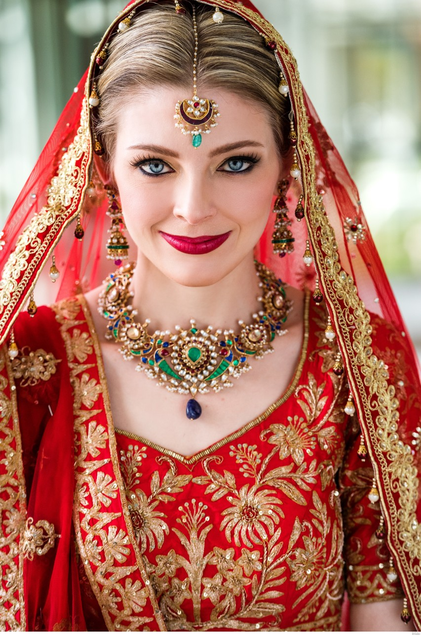 South Asian Bridal Portrait