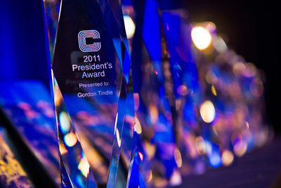 Corporate awards ceremony photography coverage