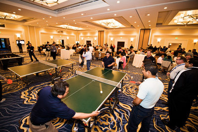 Corporate team building event photography
