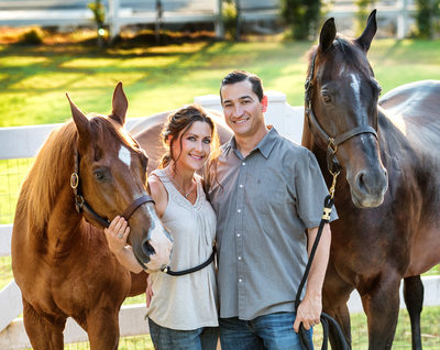 Family Portraits with Horses