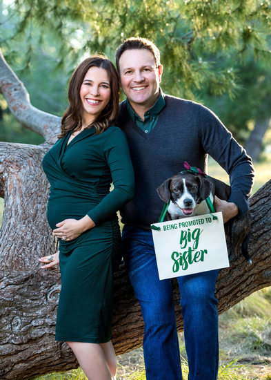 Orange County Baby Announcement