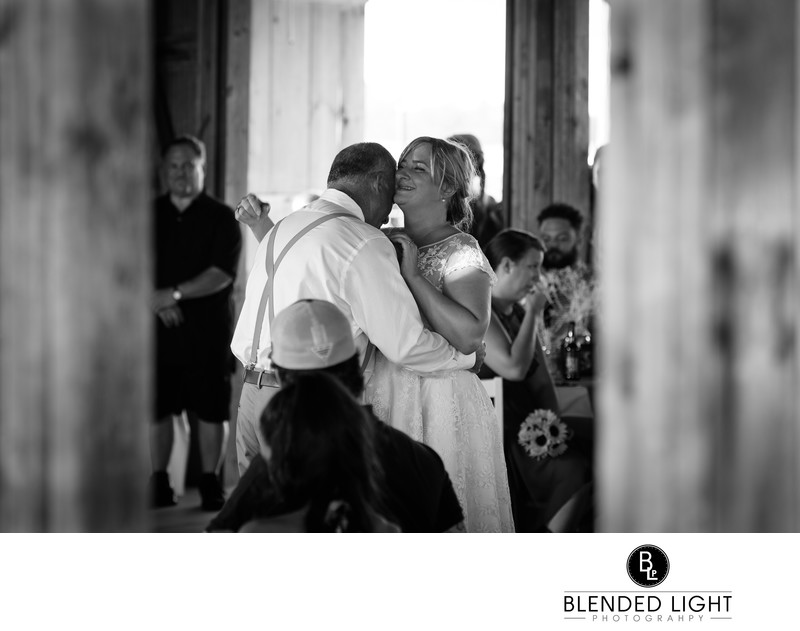 Raleigh photographer Starlight Meadow first dance