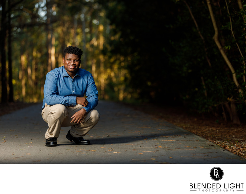 Great Knightdale Senior Photographer