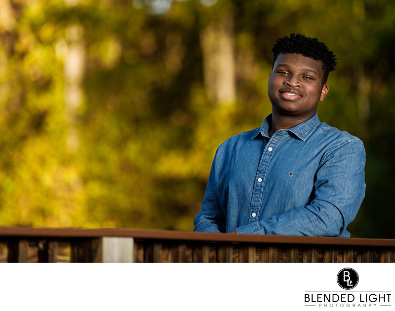 Knightdale NC Top Senior Image