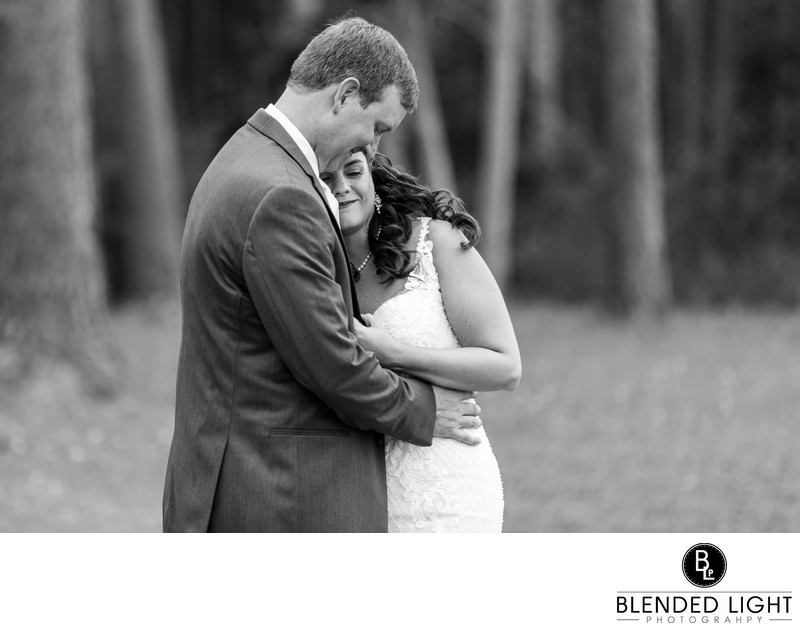 Neuse Breeze Wedding First Look Pictures