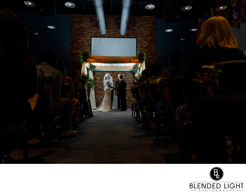 Beautiful Raleigh Wedding ceremony photograph