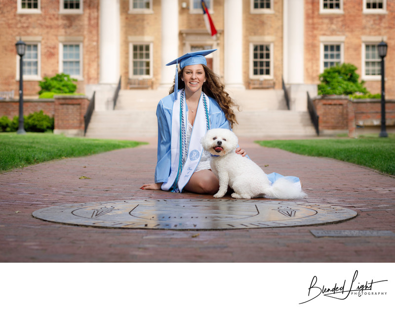 UNC Senior Portrait Photography