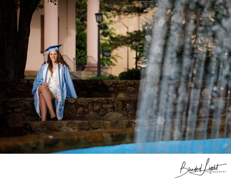 Chapel Hill Senior Photographer