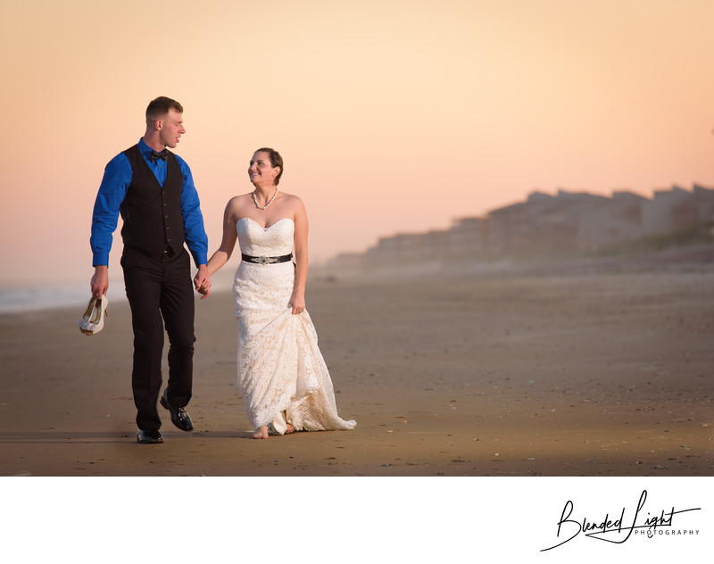 Topsail Beach NC Wedding Photography