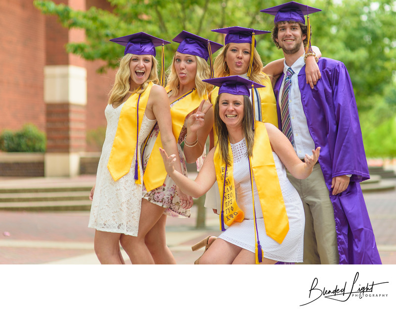 Top ECU Sorority Senior Image