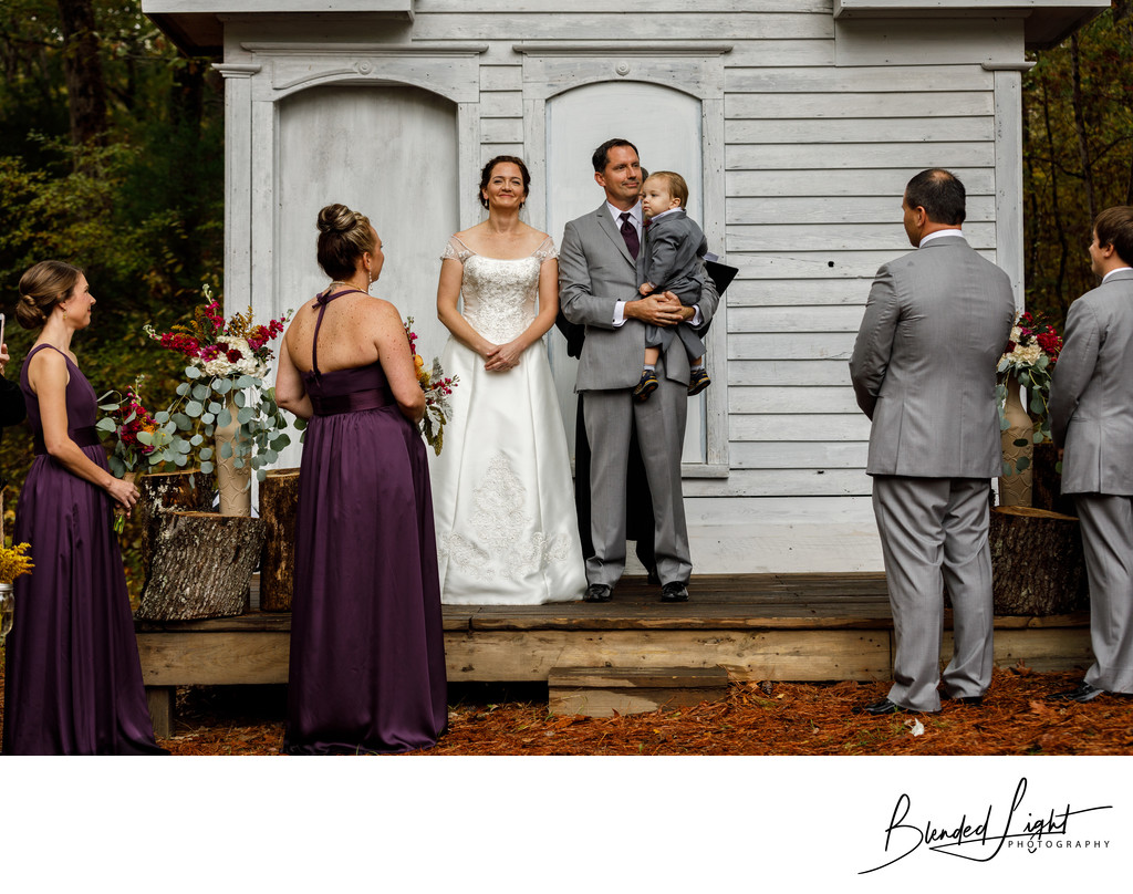Doyles Vineyard Wedding Ceremony Photography