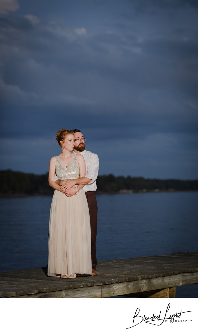 Lake Gaston Wedding Photography Image