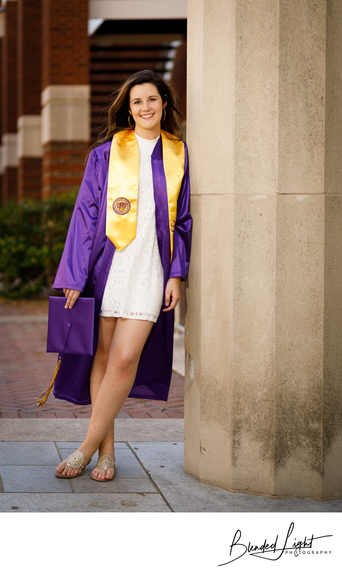 East Carolina University Senior Photography Greenville