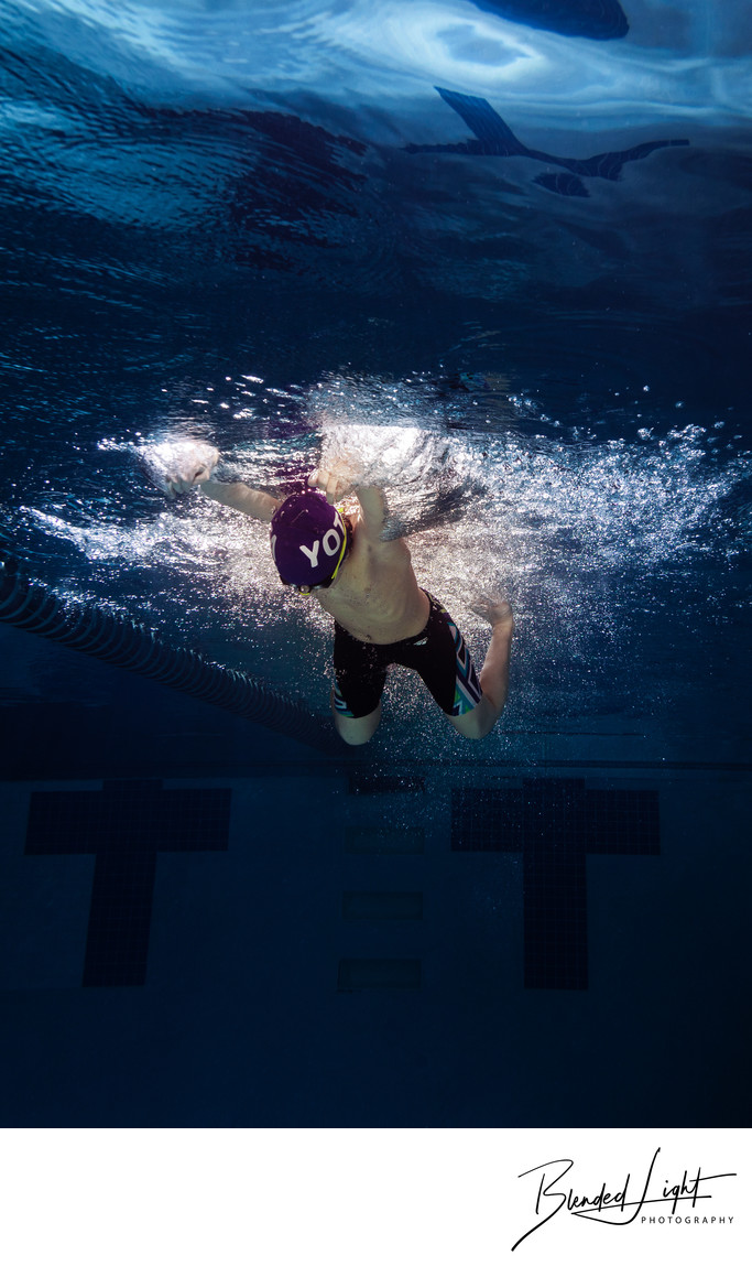 Best Underwater Swimming Photograph Greensboro
