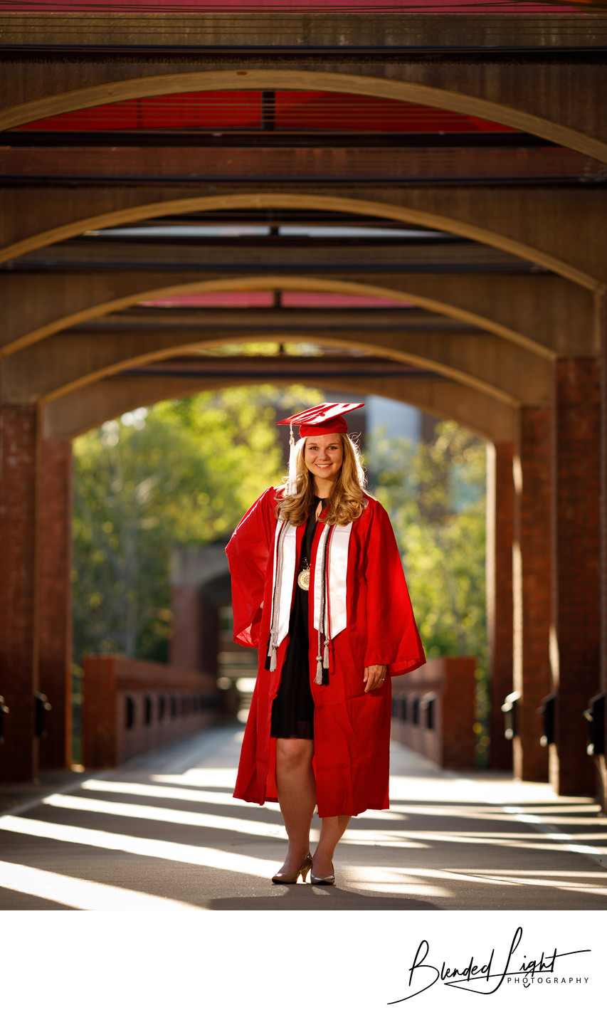 Excellent NCSU Graduate Senior Portrait Raleigh NC