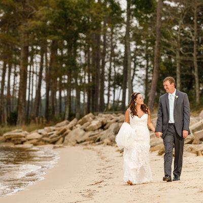 Havelock NC Neuse Breeze Beach Wedding Photography