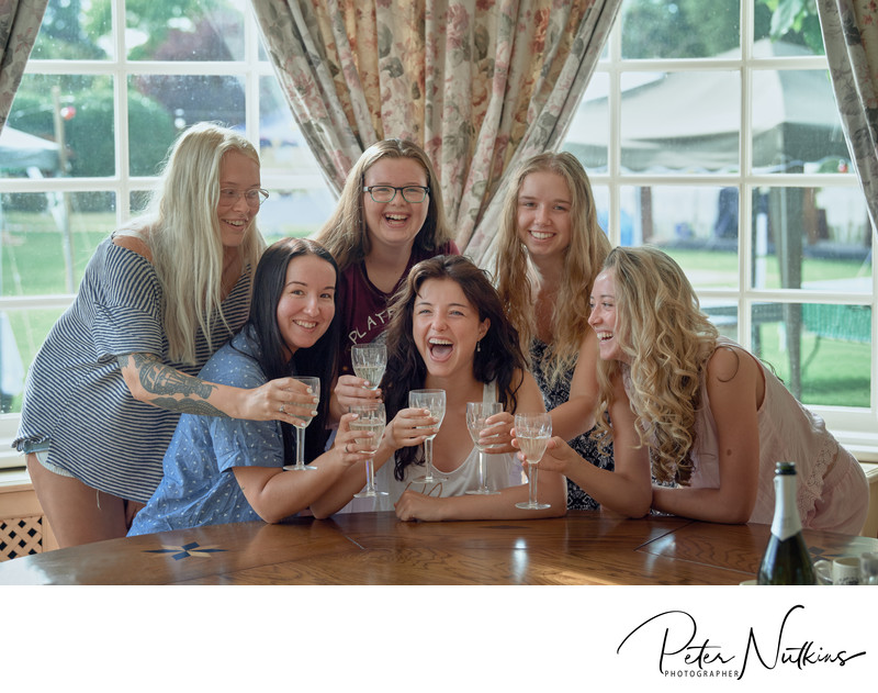 bridal breakfast photography