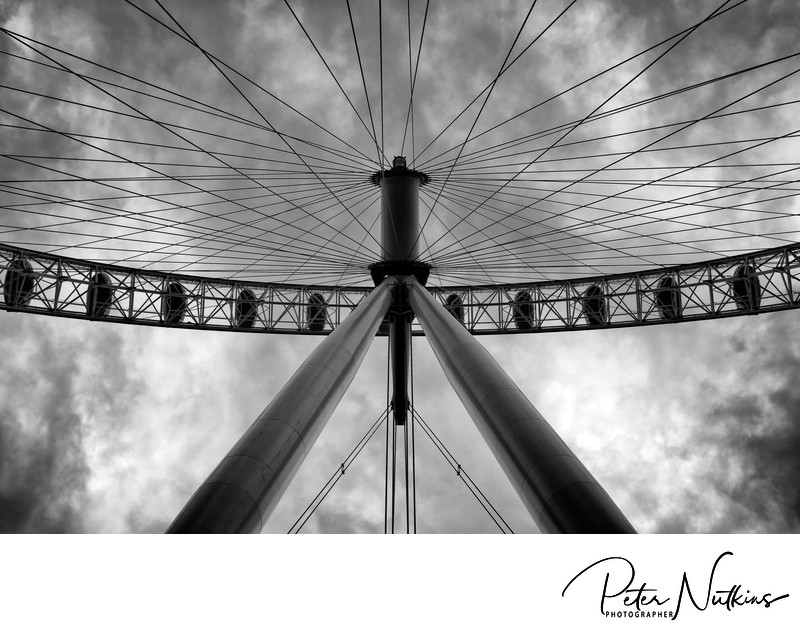 Spokes At The London Eye
