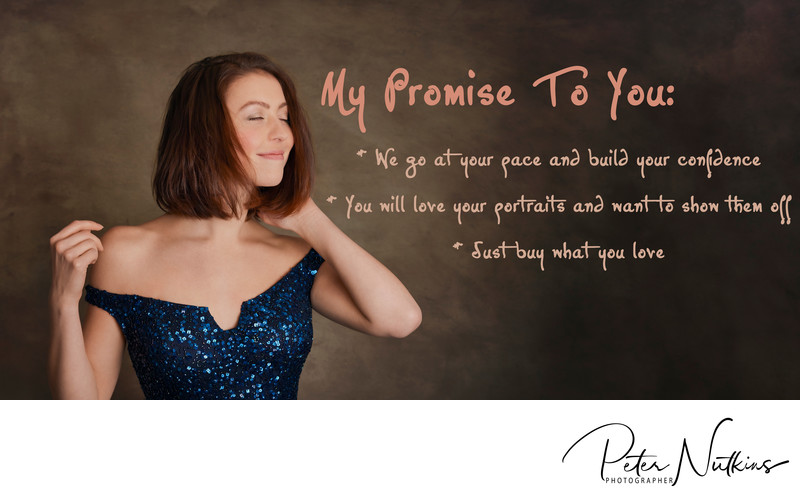 professional portrait photography promise