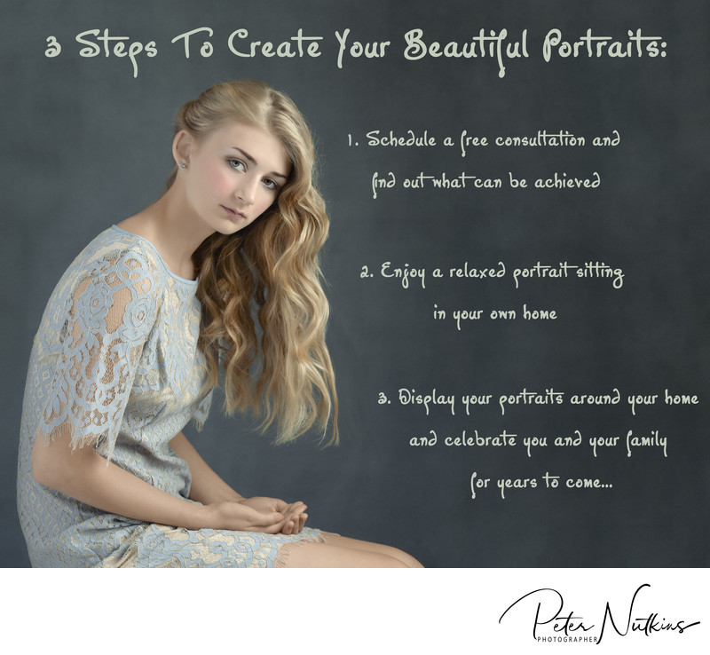 professional portrait photography 3 steps to portrait