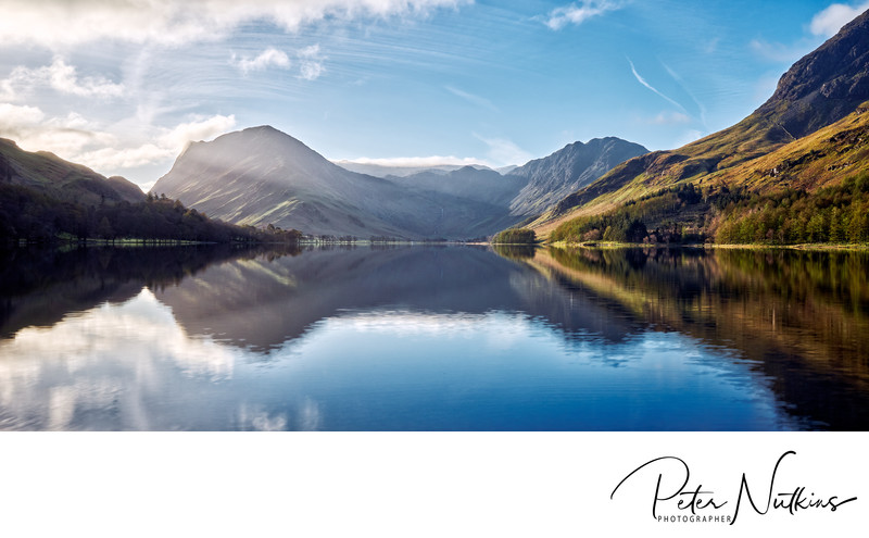 Buttermere Lake in Cumbria