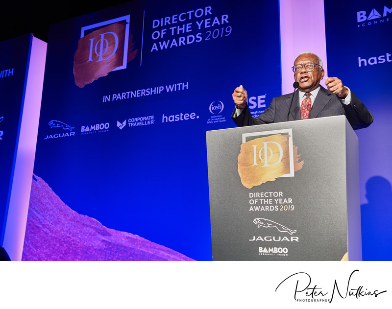 Event Photography Sir Trevor McDonald