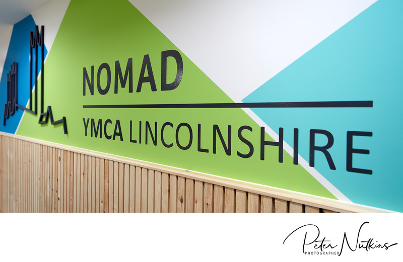 YMCA Nomad Centre Lincoln Signage
