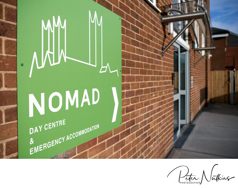 Entrance YMCA Nomad Centre Lincoln