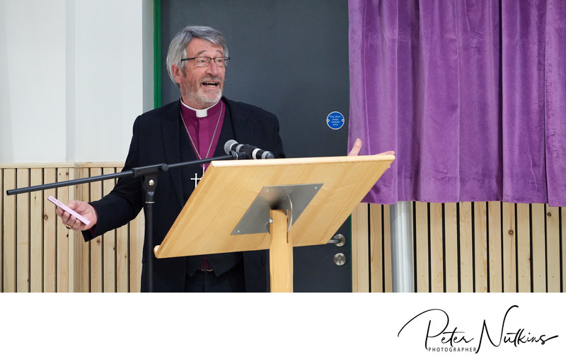 Rev Canon John Patrick Speech
