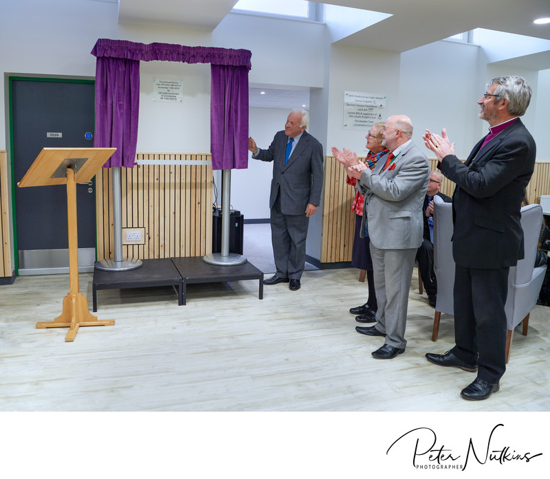 Opening YMCA Nomad Centre Lincoln