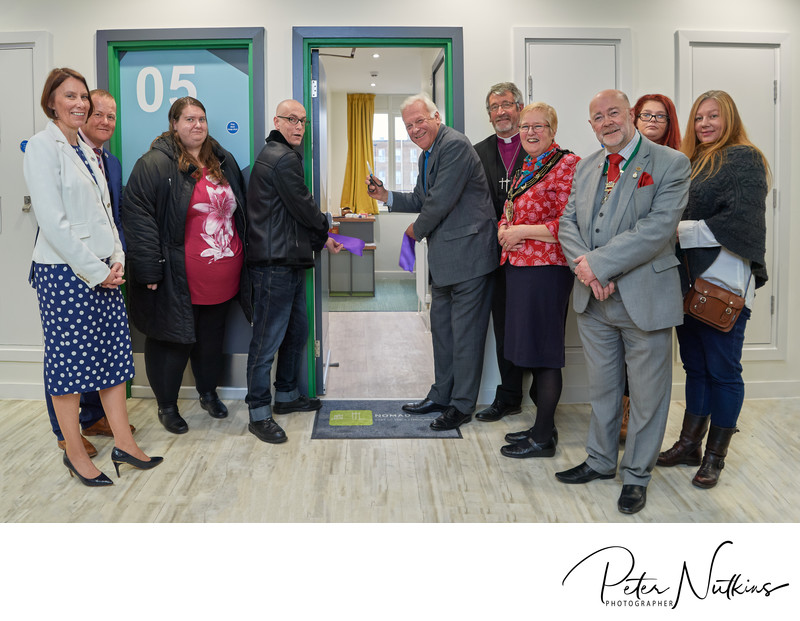 Official Opening YMCA Nomad Rooms