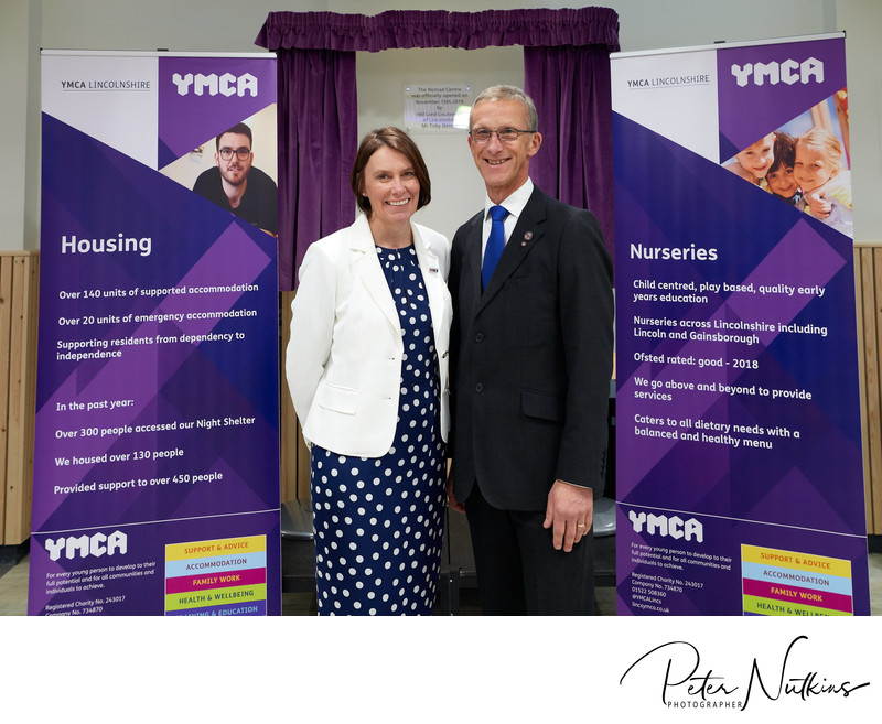 CEO YMCA Lincs And Vice President of YMCA Worldwide