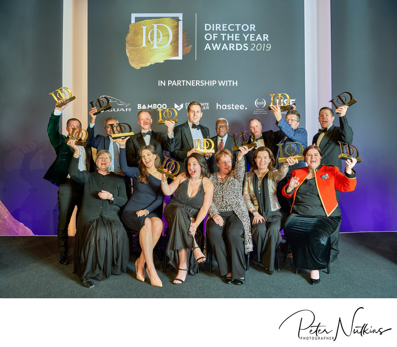Winners Go Mad At Director Of The Year Awards