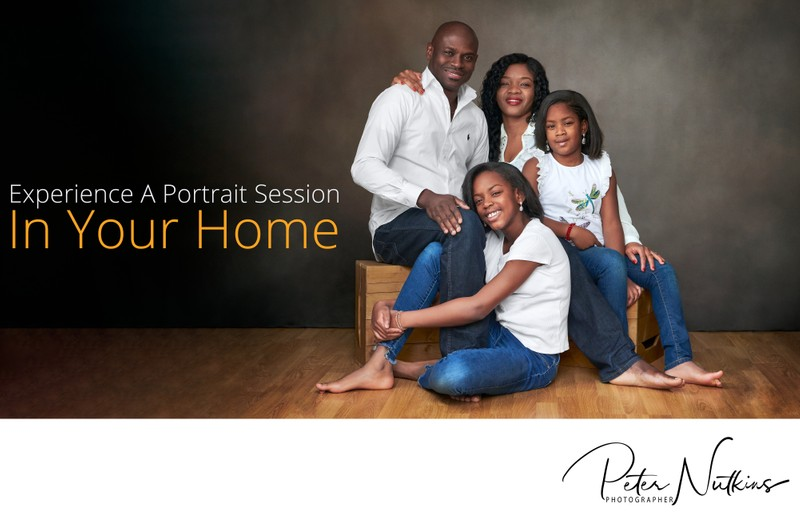 Studio Portraits In Your Own Home