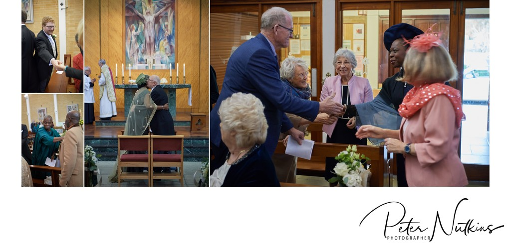 Wedding Photography at St Richards Chichester
