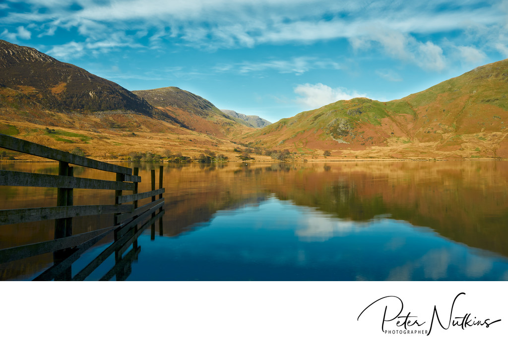 Crummock Water In The Lake District
