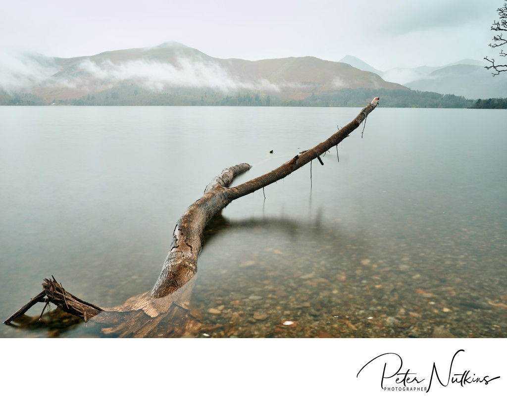 Derwent Water in Rain