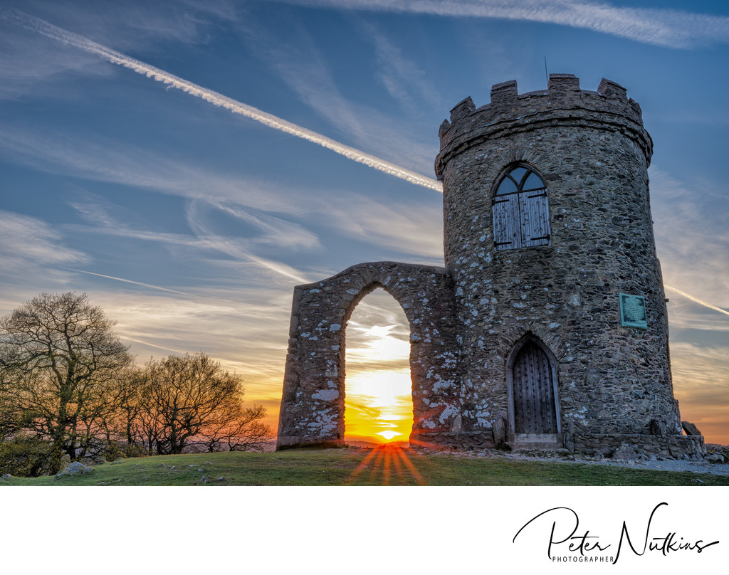 Old John Bradgate Park Leicestershire Sunset