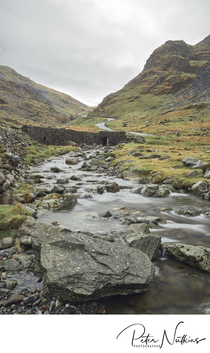 Honister Pass Bridge in the Lake District